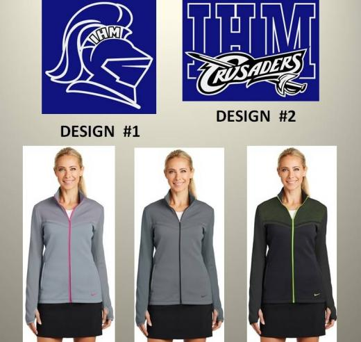 IHM Nike Golf Ladies Therma-FIT Hypervis Full-Zip Jacket c07d53dd4